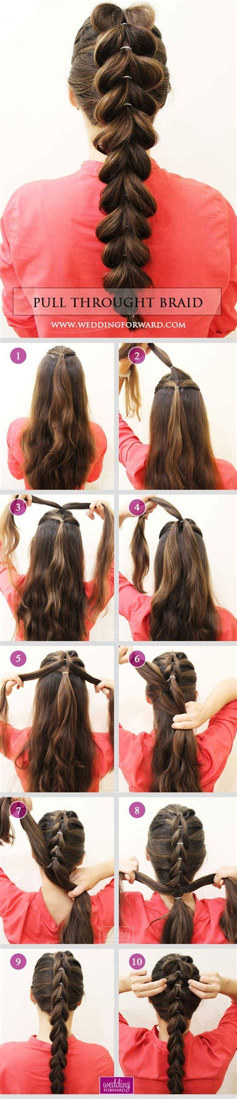 steps for long braids to be put in a bun 17 best ideas about braided hairstyles on pinterest
