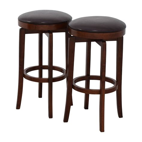 Leather Backless Bar Stools by 90 Jc Jc Malone Backless Leather Swivel