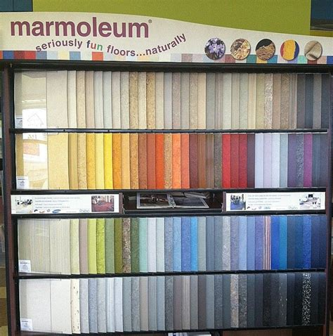 marmoleum showroom forbo s marmoleum display updated with new colors and