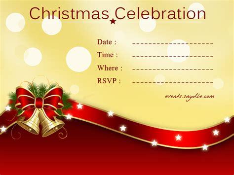 christmas invitation cards festival   world