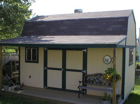 Simply Shed country backyard design with simply tough shed plans and 8 ft shelf or work surface storage