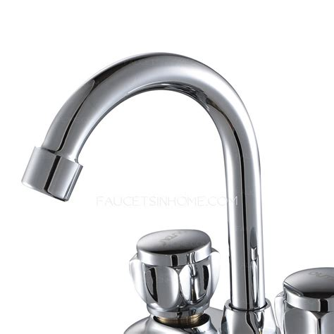 2 Faucet Sink by Classic Two Holes Two Handles Bathroom Sink Faucet