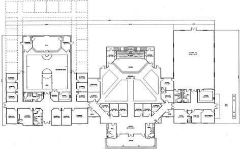 church floor plan designs church plan 151 lth steel structures