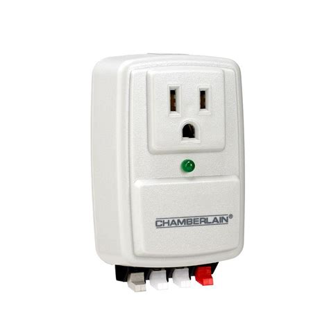 Garage Door Surge Protector by Chamberlain System Surge Protector Clss1 The Home Depot