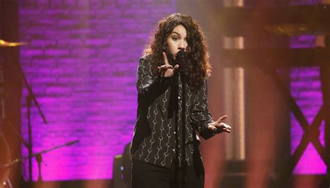 here clean alessia cara alessia cara performs quot here quot on quot late night with seth