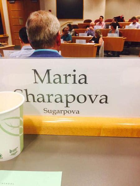 Sharapova Harvard Business School Mba by Sharapova Tweets From Harvard Business School