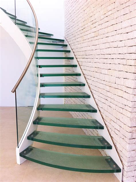glass stairs banisters glass stairs glass railing
