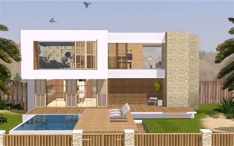 modern homes blueprints