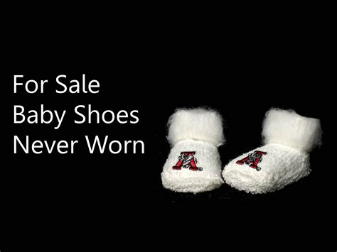baby shoes never worn the world s saddest story in 6 words speaking powerpoint