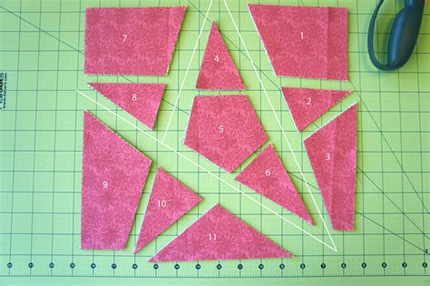 tutorial 5 point quilt block technique 2 jmday