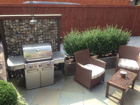 backyard bbq areas 29 cool outdoor barbeque areas digsdigs