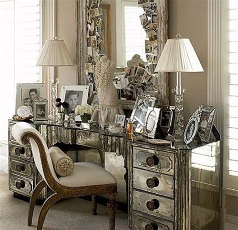 ideas   mirrored furniture   bedroom