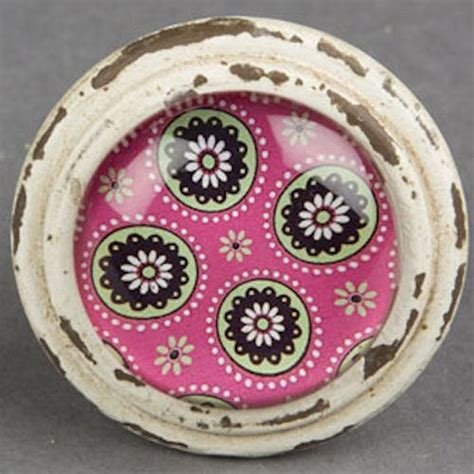 knobs and more home decor ethnic boho door knobs drawer pulls brights print home