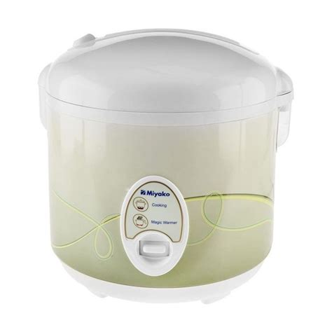 Miyako Rice Cooker 3 In 1 Magic Warmer Plus 0 63 Liter Mcm 609 jual miyako mcm 508 magic penanak nasi rice cooker