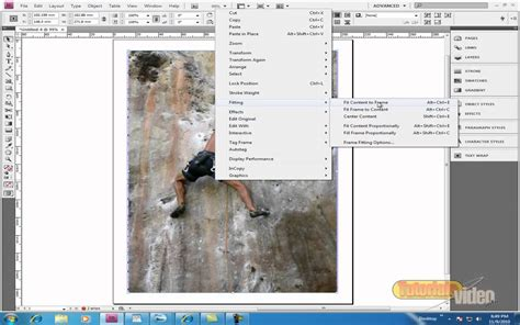tutorial indesign gratuit efectul run around in adobe indesign tutoriale video