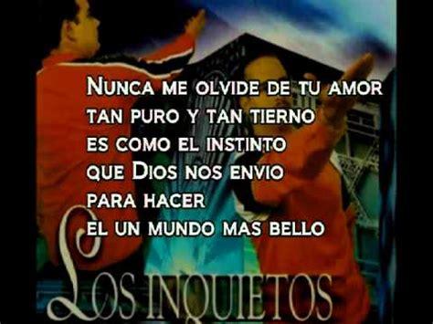 imagenes de i love vallenato los inquetos del vallenato quiero saber de ti con letra