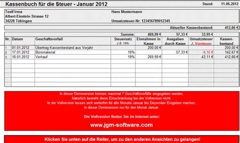 Friseur Software Kostenlos Excel Kassenbuch Download