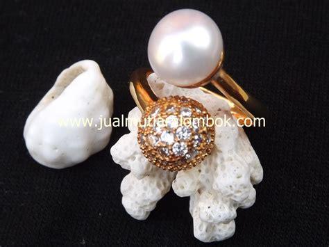 Jewelry Set Warna Silver Kalung Giwang Cincin Gelang For Wedding E cincin mutiara lombok crmt 14 jual mutiara lombok murah