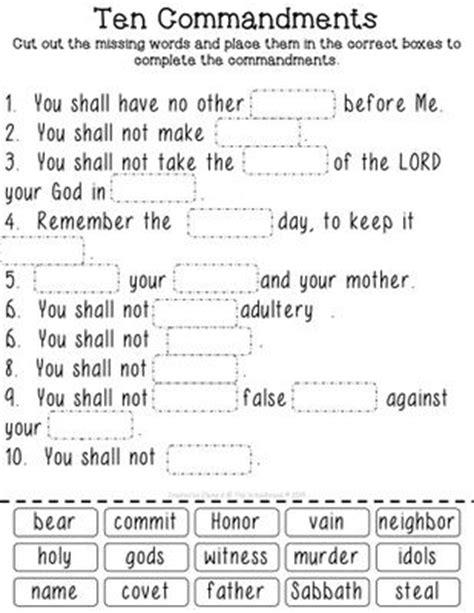 printable version ten commandments catholic best 25 ten commandments ideas on pinterest