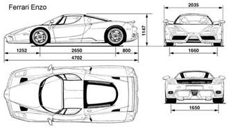 Blueprint Online Free Ferrari Enzo Blueprint Download Free Blueprint For 3d