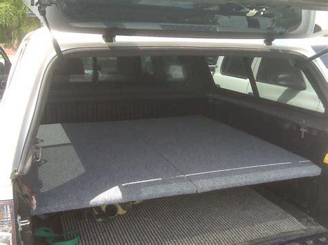 truck bed sleeping platform simple sleeping platform cheap works great tacoma world