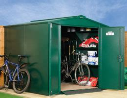 Asgard Sheds Bike Storage by Asgard Centurion Metal Bike Shed 5x7