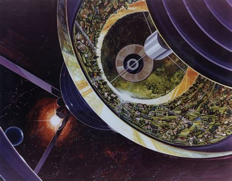 Concept Design For Karimadom Colony Trivandrum | space colony concept art from 1970 design swan