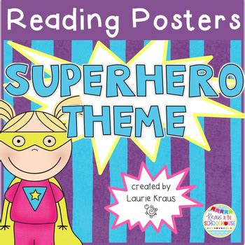 themes for reading comprehension superhero theme reading comprehension posters by laurie