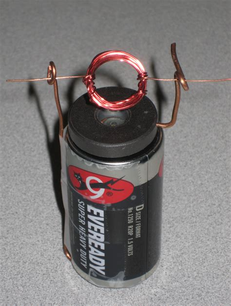 Electric Motor Experiment by Building An Electric Motor Physics Physical Science