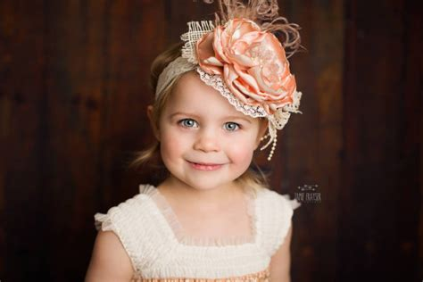 Wedding Hair Accessories For Toddlers by Toddler Headband Flower Headbands Flower Headband