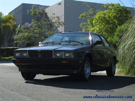 1985 Maserati Biturbo by 1985 Maserati Biturbo By Classic Showcase
