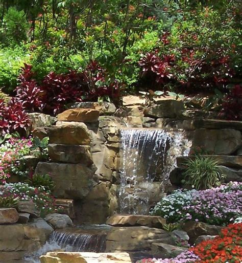 indoor patio ideas diy outdoor water wall fountain