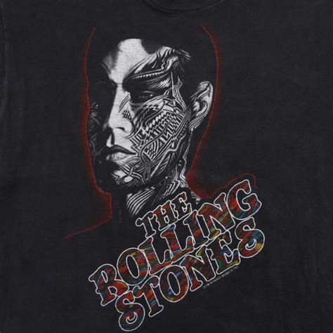 tattoo you rolling stones rolling stones you shirt 1981 wyco vintage