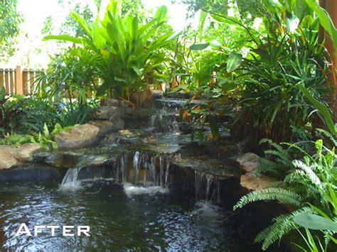 traditional thai garden waterfall thai garden design