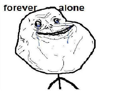 Forever Alone Meme - weak thrust better know a meme forever alone