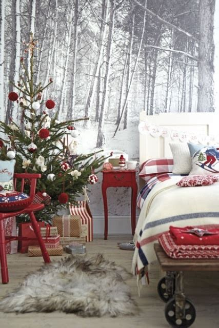 decorating your bedroom for christmas 32 adorable christmas bedroom d 233 cor ideas digsdigs