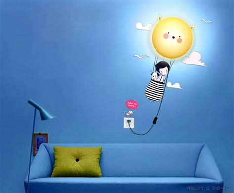cheap creative diy bedroom wall stickers wallpaper