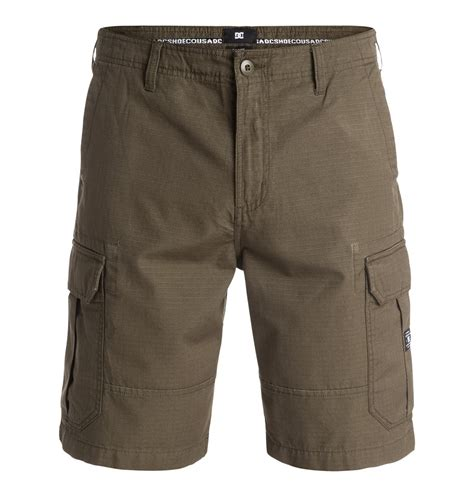 mens boots with shorts dc shoes s ripstop cargo shorts edyws03054 ebay