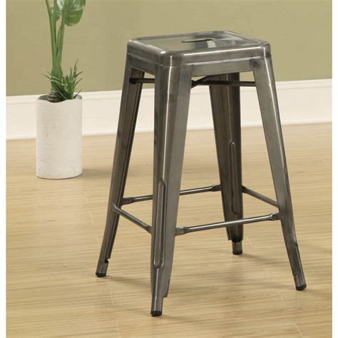 Aluminum Bar Stools Backless by Metal Backless Bar Stools Zef Jam