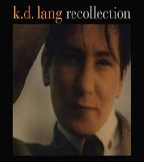 Cd K D Lang Recollection lang k d recollection 2xcd