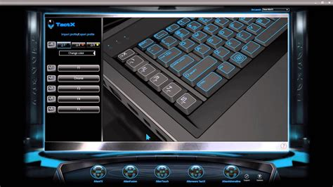 color of the alienware how to change color of the keyboard led