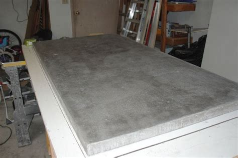 Polyurethane On Concrete Countertop by How To Build A Basic Concrete Countertop Your Projects Obn