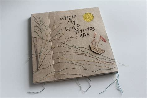 Handmade Childrens Books - where my things are on behance