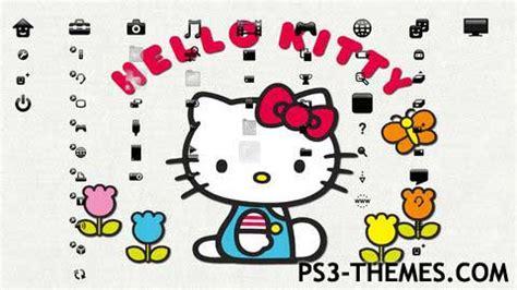 hello kitty themes ps3 ps3 themes 187 hello kitty