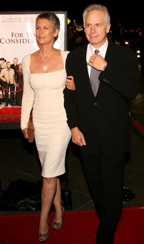 jamie lee curtis with husband jamie lee curtis in los angeles premiere of quot for your