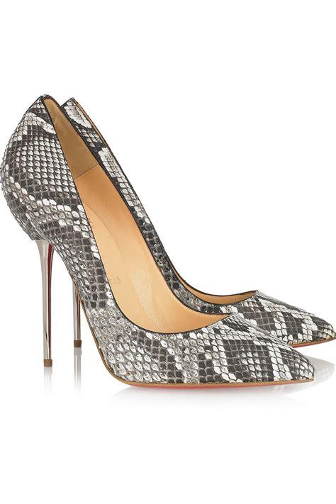 snake high heels brand snake print high heels pointed toe stiletto