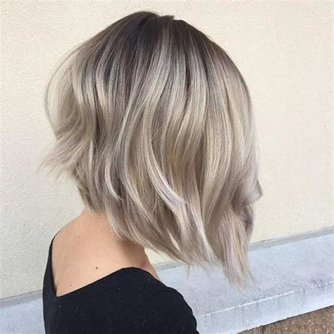 long bob angled hairstyles graduated layers 27 graduated bob hairstyles that looking amazing on