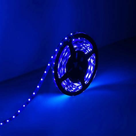 le 12v le 174 12v dc led lights 16 4ft 5m led light strips blue 300 units 3528 leds non
