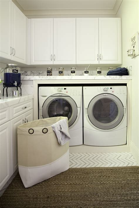 Pottery Barn Laundry Room pottery barn laundry room organization makeover