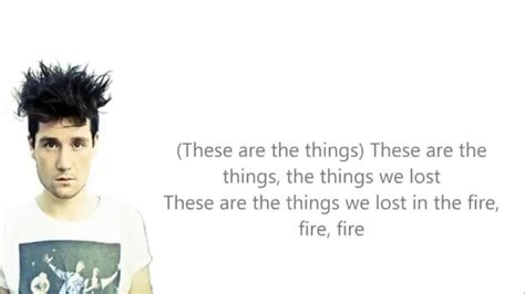 the things we lost 1846276349 bastille things we lost in the fire lyrics youtube